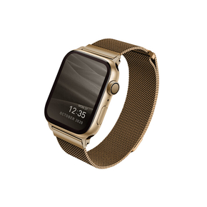 Product Uniq Dante Apple Watch Mesh Steel Strap 42/44mm - Caramel Gold base image