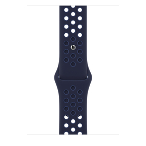 Product Apple 45mm Midnight Navy/Mystic Navy Nike Sport Band - Regular base image