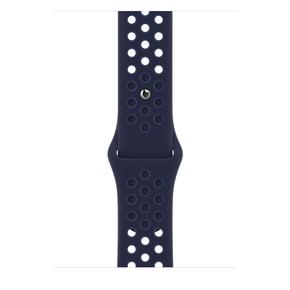 Product Apple 41mm Midnight Navy/Mystic Navy Nike Sport Band - Regular base image