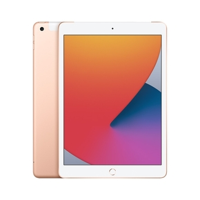 "Product Apple iPad 10.2"" (8th gen) Wi-Fi + Cellular 32GB - Gold base image"