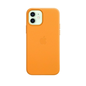 Product Apple iPhone 12 | 12 Pro Leather Case with MagSafe - California Poppy base image