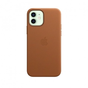 Product Apple iPhone 12 | 12 Pro Leather Case with MagSafe - Saddle Brown base image