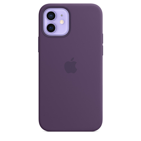 Product Apple iPhone 12 | 12 Pro Silicone Case with MagSafe - Amethyst base image