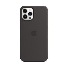 Product Apple iPhone 12 | 12 Pro Silicone Case with MagSafe - Black base image
