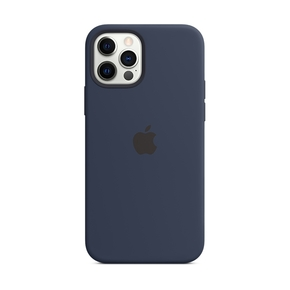 Product Apple iPhone 12 | 12 Pro Silicone Case with MagSafe - Deep Navy base image