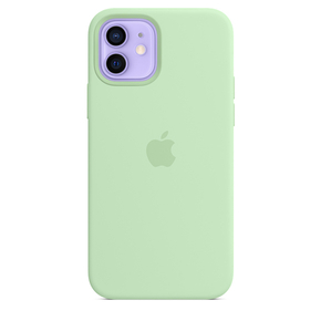 Product Apple iPhone 12 | 12 Pro Silicone Case with MagSafe - Pistachio base image