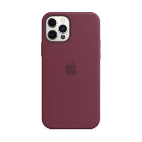 Product Apple iPhone 12 | 12 Pro Silicone Case with MagSafe - Plum base image