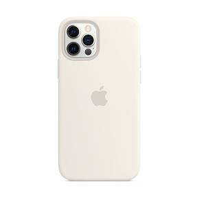 Product Apple iPhone 12 | 12 Pro Silicone Case with MagSafe - White base image