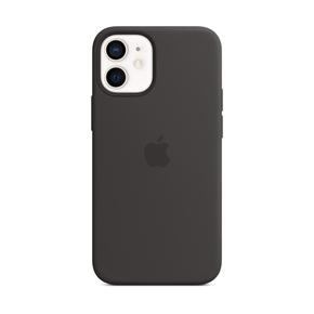 Product Apple iPhone 12 mini Silicone Case with MagSafe - Black base image