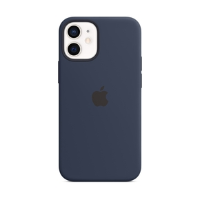 Product Apple iPhone 12 mini Silicone Case with MagSafe - Deep Navy base image