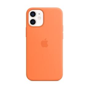 Product Apple iPhone 12 mini Silicone Case with MagSafe - Kumquat base image