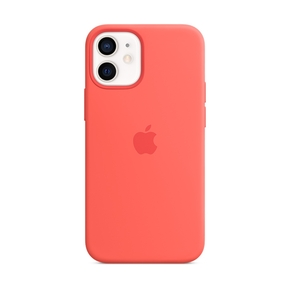 Product Apple iPhone 12 mini Silicone Case with MagSafe - Pink Citrus base image