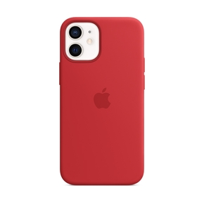 Product Apple iPhone 12 mini Silicone Case with MagSafe - (PRODUCT)RED base image