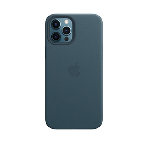 Product Apple iPhone 12 Pro Max Leather Case with MagSafe - Baltic Blue base image