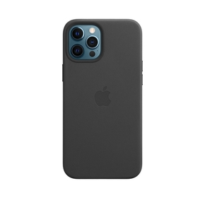 Product Apple iPhone 12 Pro Max Leather Case with MagSafe - Black base image
