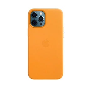 Product Apple iPhone 12 Pro Max Leather Case with MagSafe - California Poppy base image