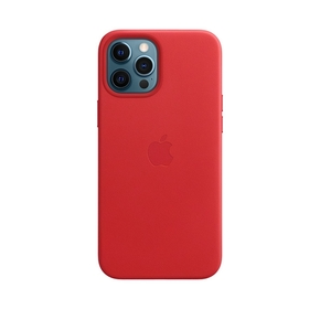 Product Apple iPhone 12 Pro Max Leather Case with MagSafe - (PRODUCT)RED base image