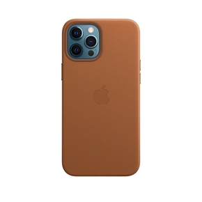 Product Apple iPhone 12 Pro Max Leather Case with MagSafe - Saddle Brown base image