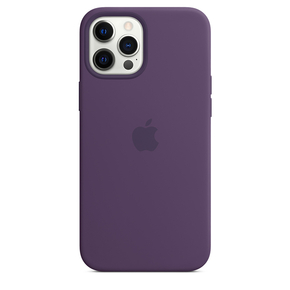 Product Apple iPhone 12 Pro Max Silicone Case with MagSafe - Amethyst base image