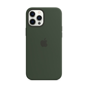 Product Apple iPhone 12 Pro Max Silicone Case with MagSafe - Cyprus Green base image