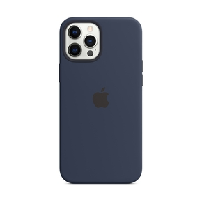 Product Apple iPhone 12 Pro Max Silicone Case with MagSafe - Deep Navy base image