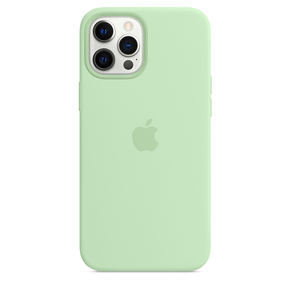 Product Apple iPhone 12 Pro Max Silicone Case with MagSafe - Pistachio base image