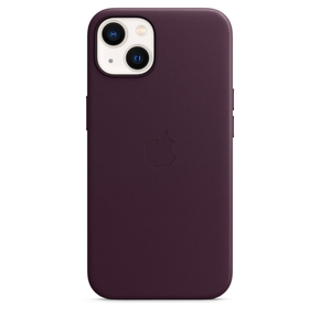 Product Apple iPhone 13 Leather Case with MagSafe - Dark Cherry base image