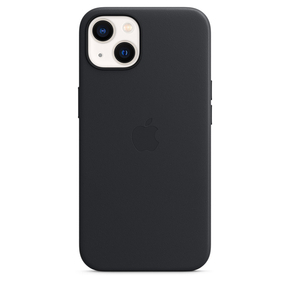 Product Apple iPhone 13 Leather Case with MagSafe - Midnight base image