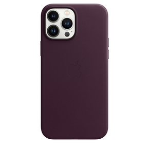 Product Apple iPhone 13 Pro Max Leather Case with MagSafe - Dark Cherry base image