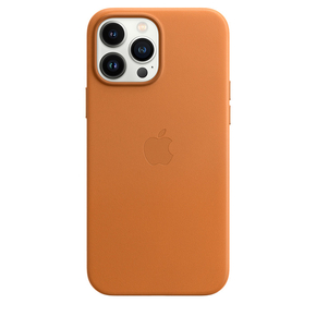Product Apple iPhone 13 Pro Leather Case with MagSafe - Golden Brown base image