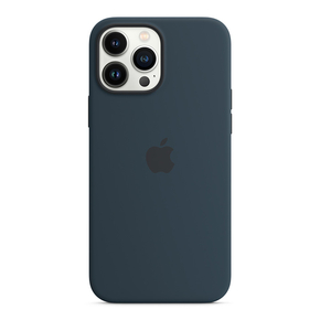 Product Apple iPhone 13 Pro Max Silicone Case with MagSafe  - Abyss Blue base image