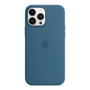Product Apple iPhone 13 Pro Max Silicone Case with MagSafe –- Blue Jay base image