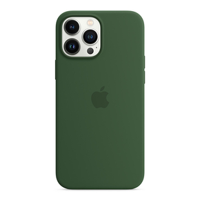 Product Apple iPhone 13 Pro Max Silicone Case with MagSafe –- Clover base image