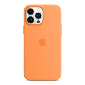 Product Apple iPhone 13 Pro Max Silicone Case with MagSafe - Marigold base image