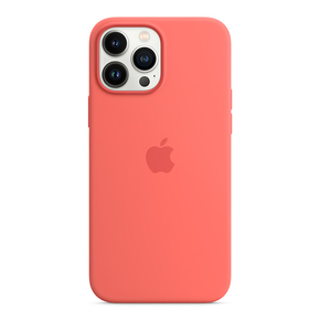 Product Apple iPhone 13 Pro Max Silicone Case with MagSafe - Pink Pomelo base image