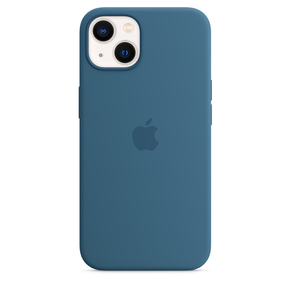 Product Apple iPhone 13 Silicone Case with MagSafe - Blue Jay base image