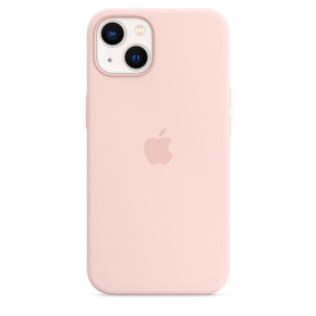 Product Apple iPhone 13 Silicone Case with MagSafe - Chalk Pink base image