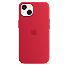 Product Apple iPhone 13 Silicone Case with MagSafe - (PRODUCT)RED base image
