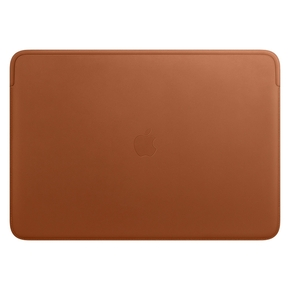 Product Apple Leather Sleeve case for 16-inch MacBook Pro - Saddle Brown base image