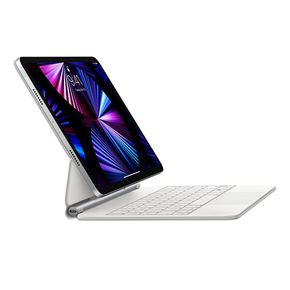 """Product Apple Magic Keyboard for iPad Pro 11"""" (1st, 2nd, or 3rd Gen) and iPad Air (4th Gen) White - GR base image"""