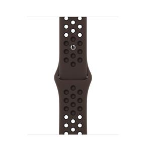 Product Apple Watch 40mm Ironstone/Black Nike Sport Band - Regular base image