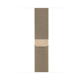 Product Apple Watch 44mm Gold Milanese Loop base image