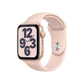 Product Apple Watch SE 44mm Gold with Pink Sand Sport Band base image
