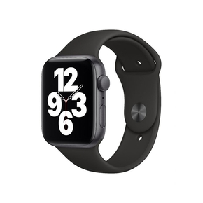Product Apple Watch SE 44mm Space Grey with Black Sport Band base image