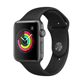 Product Apple Watch Series 3 GPS 42mm Space Gray with Black Sport Band base image