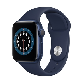 Product Apple Watch Series 6 40mm Blue with Deep Navy Sport Band base image