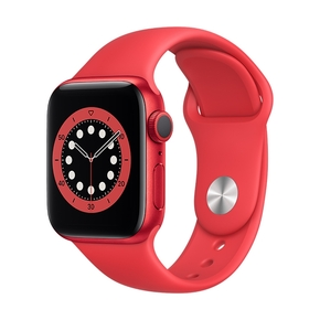 Product Apple Watch Series 6 40mm Product Red with Product Red Sport Band base image