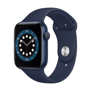 Product Apple Watch Series 6 44mm Blue with Deep Navy Sport Band base image