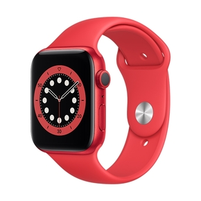 Product Apple Watch Series 6 44mm Product Red with Product Red Sport Band base image