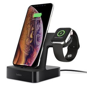 Product Belkin PowerHouse Charge Dock for Apple Watch & iPhone Black base image